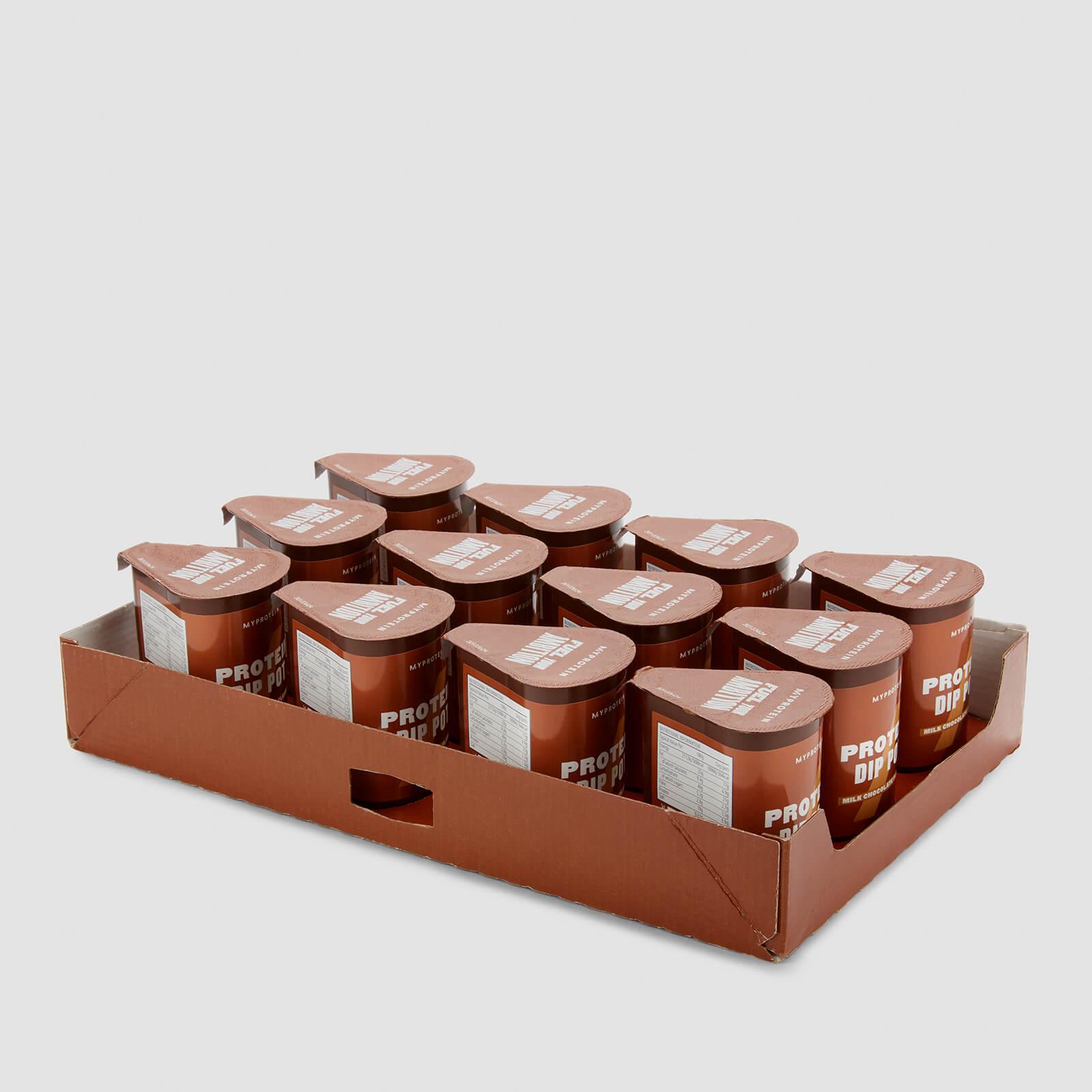 myprotein vasetto di crema proteica - 12 x 52gg - cioccolato al latte