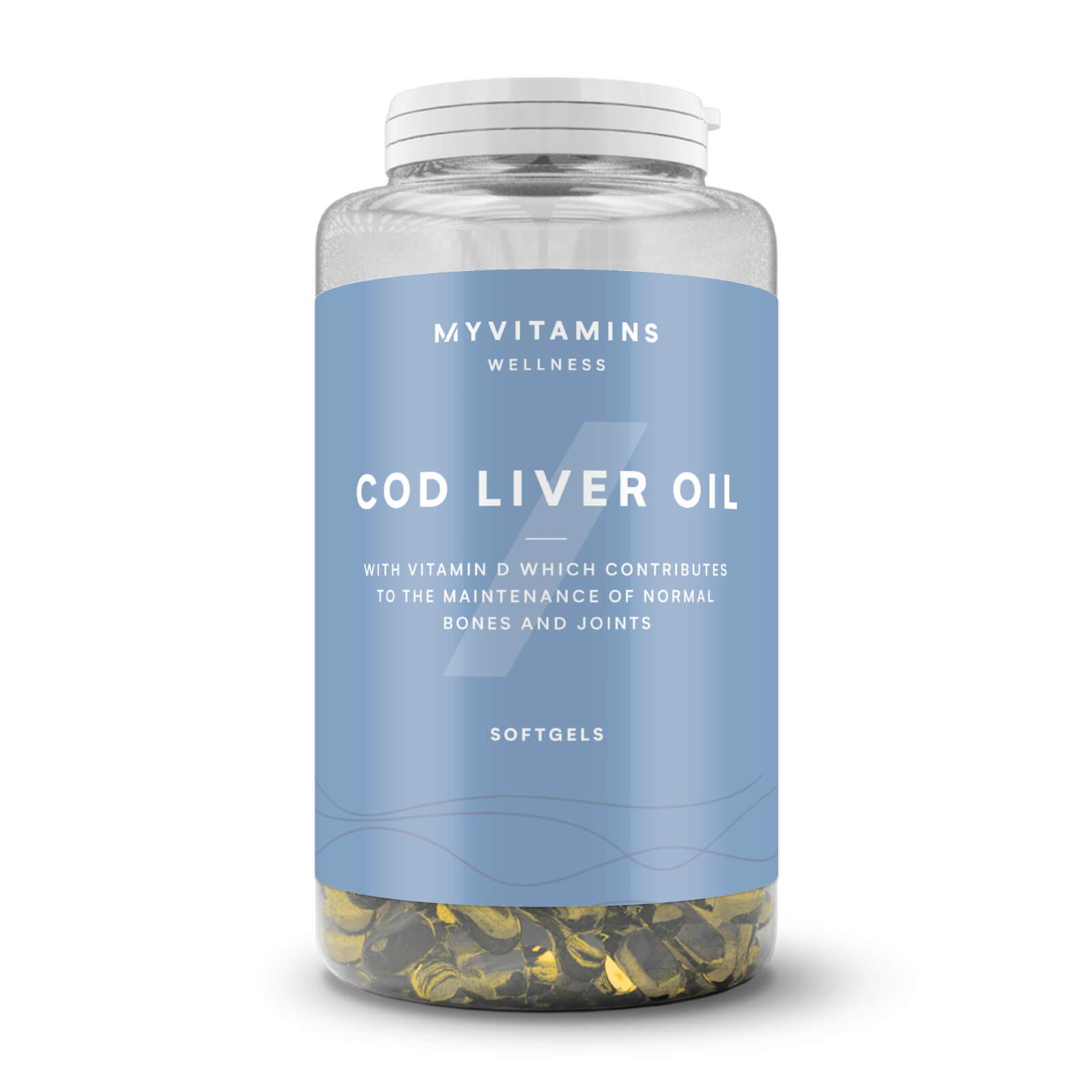 Myvitamins Olio di Fegato di Merluzzo - 90Capsule