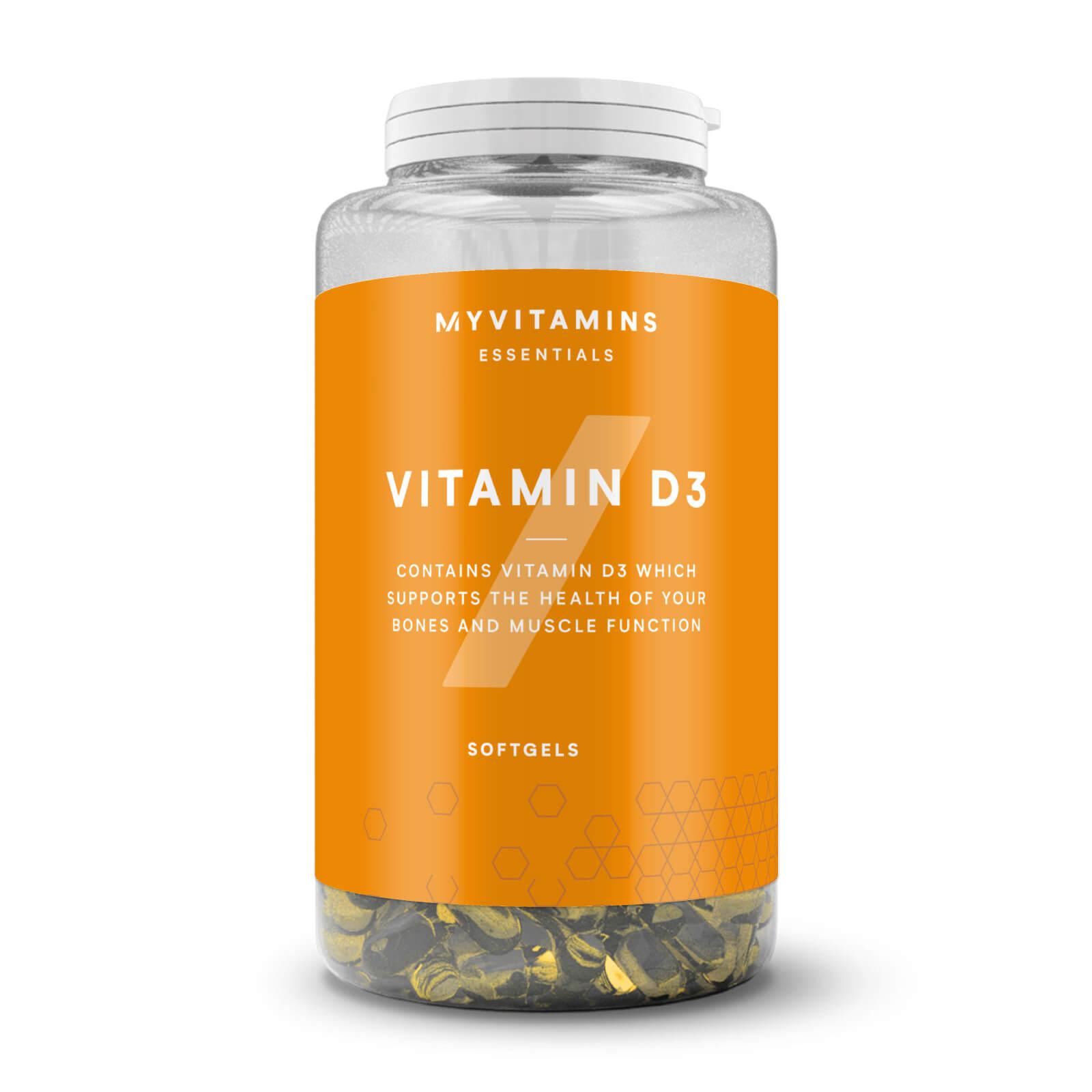 Myvitamins Vitamina D3 in Capsule - 360Capsule
