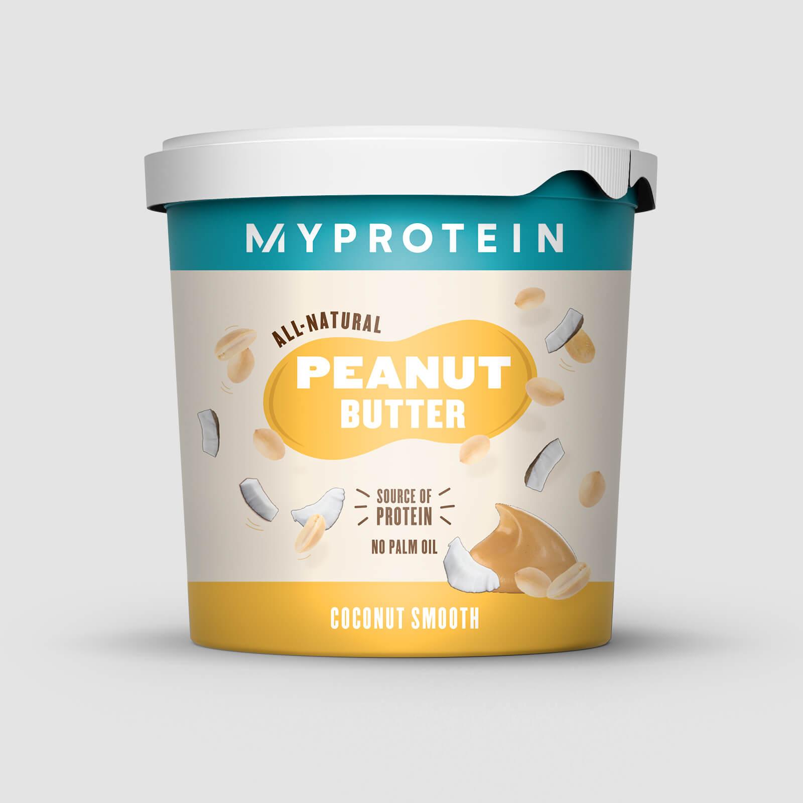Myprotein Burro d'arachidi al naturale - 1kg - Cocco - cremoso