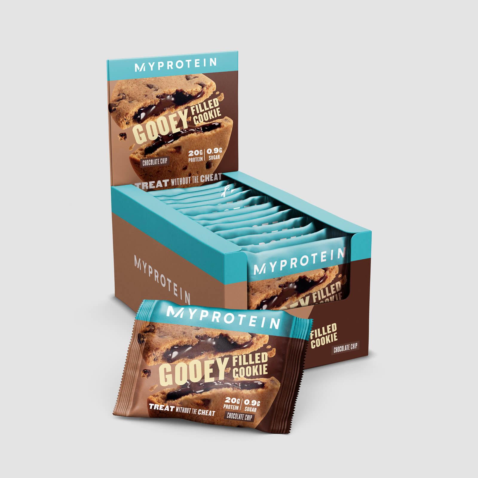 Myprotein Cookie Proteico con ripieno - Gocce di cioccolato