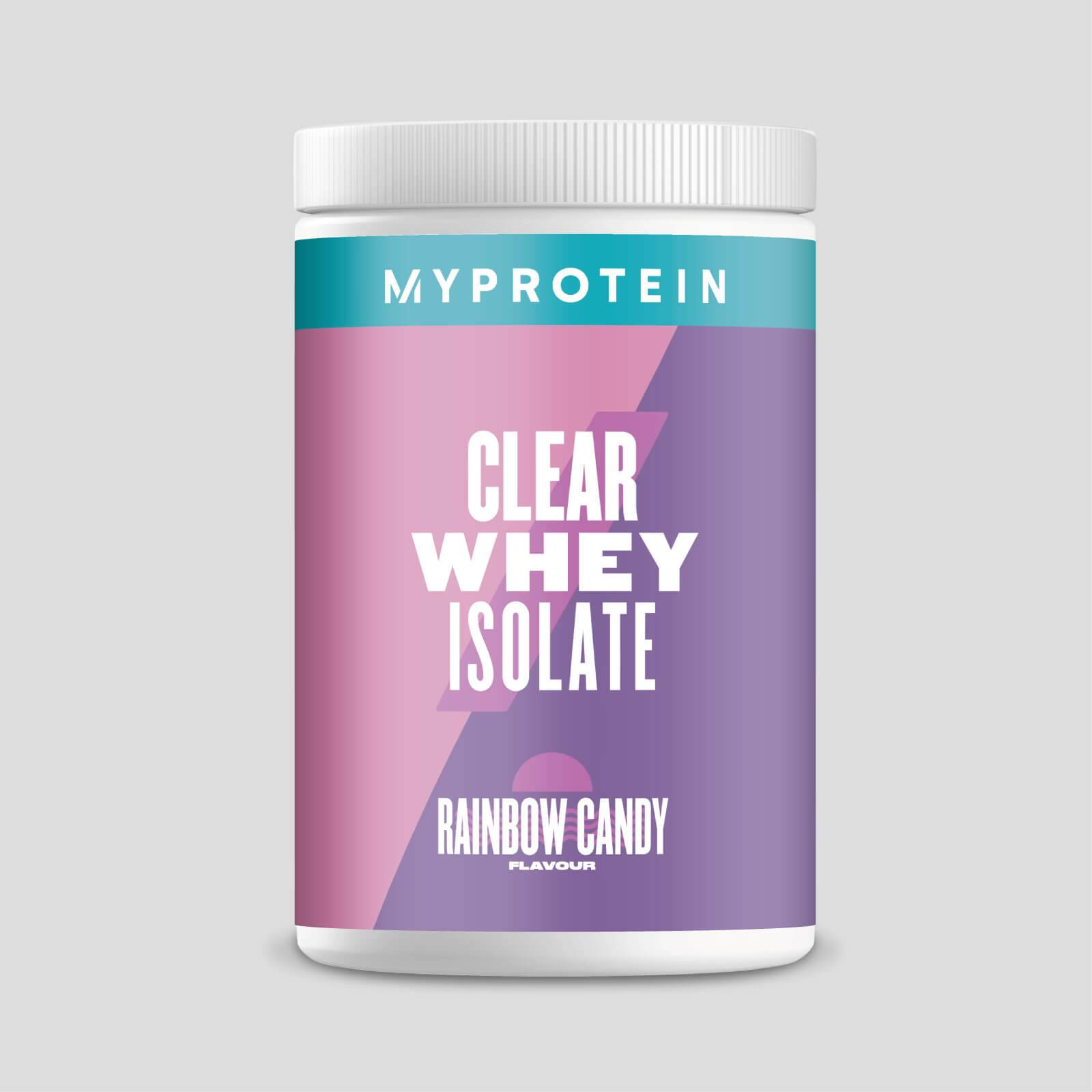 Myprotein Clear Whey Isolate - 20servings - Caramella arcobaleno