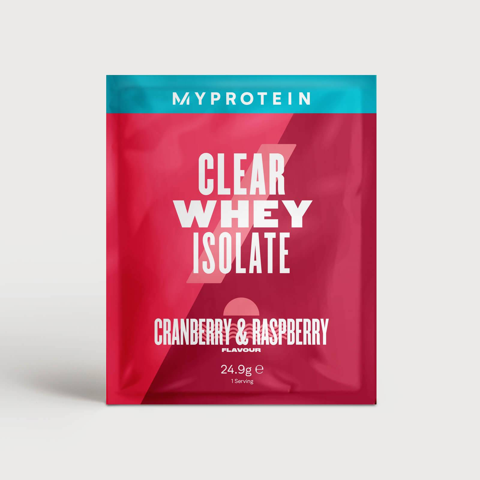 Myprotein Clear Whey Isolate (Sample) - 24.9g - Mirtillo rosso e lampone