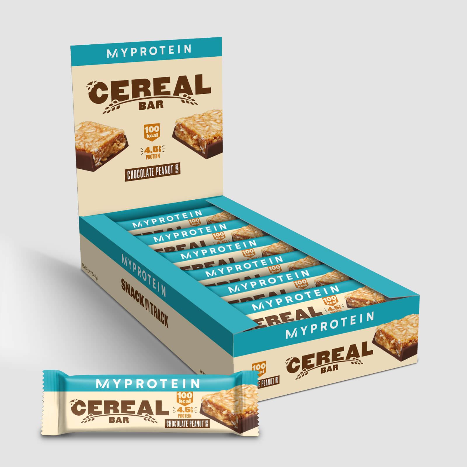 Myprotein Barretta ai Cereali - 18 x 30g - Cioccolato e arachidi