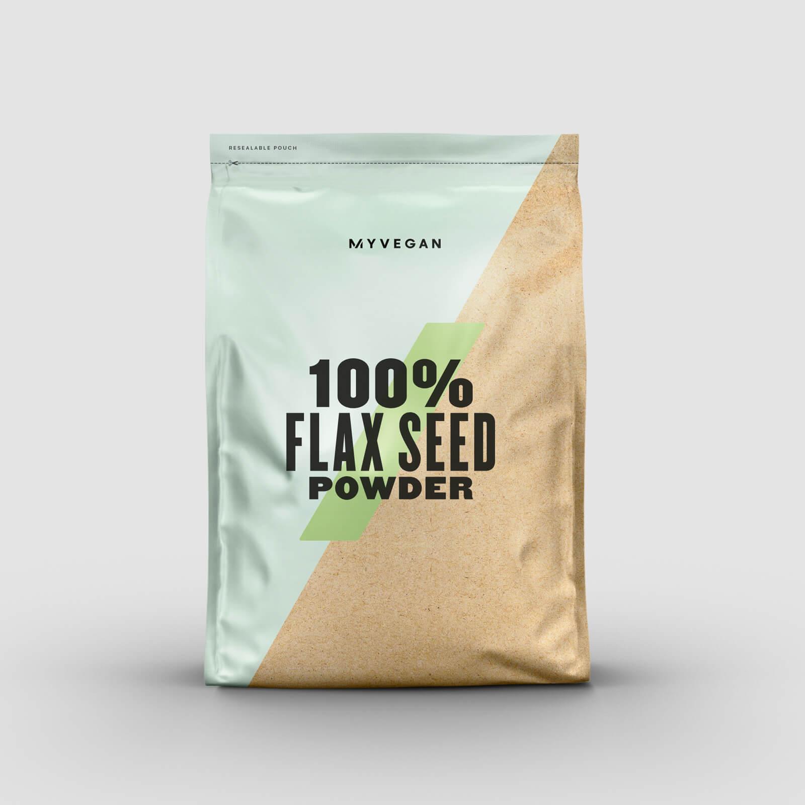 Myvegan Semi di Lino in Polvere 100% - 1kg - Senza aroma