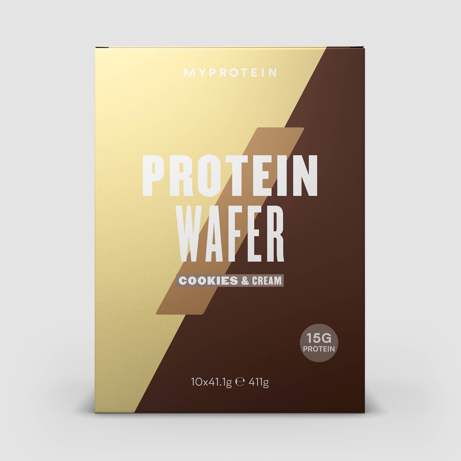 Myprotein Wafer Proteico - Biscotti e crema