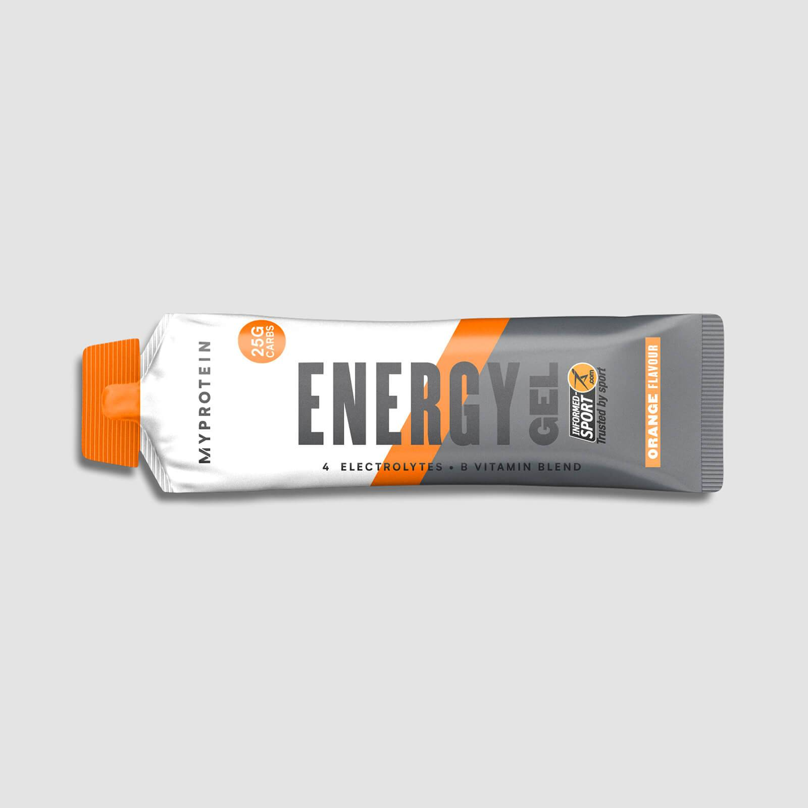 Myprotein Energy Gel Elite - 20 x 50g - Arancia