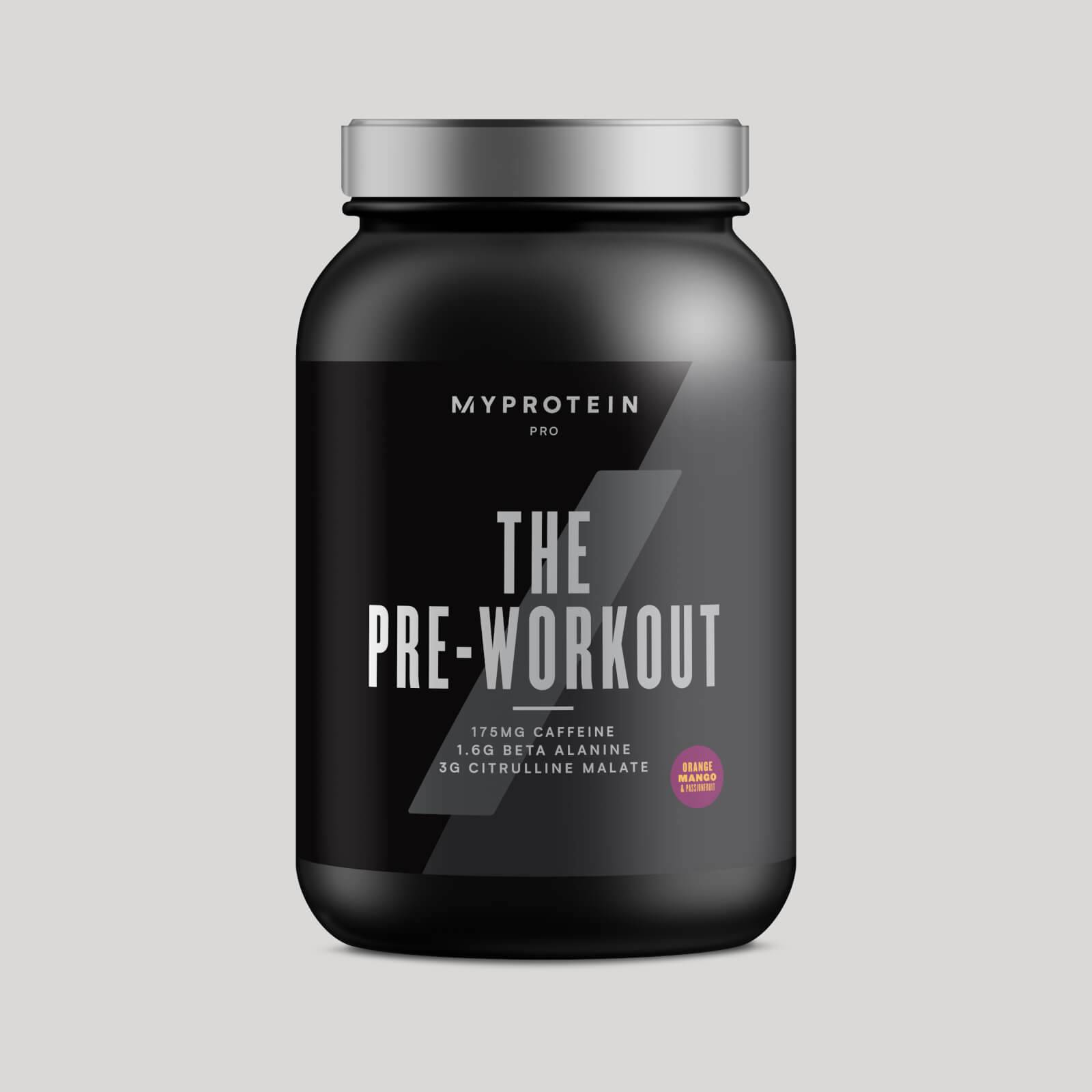 Myprotein THE Pre-Workout - 30servings - Orange Mango Passionfruit