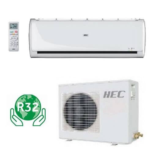 Climatizzatore Hec Tide Inverter By Haier 9000btu Gas R32 + Staffe