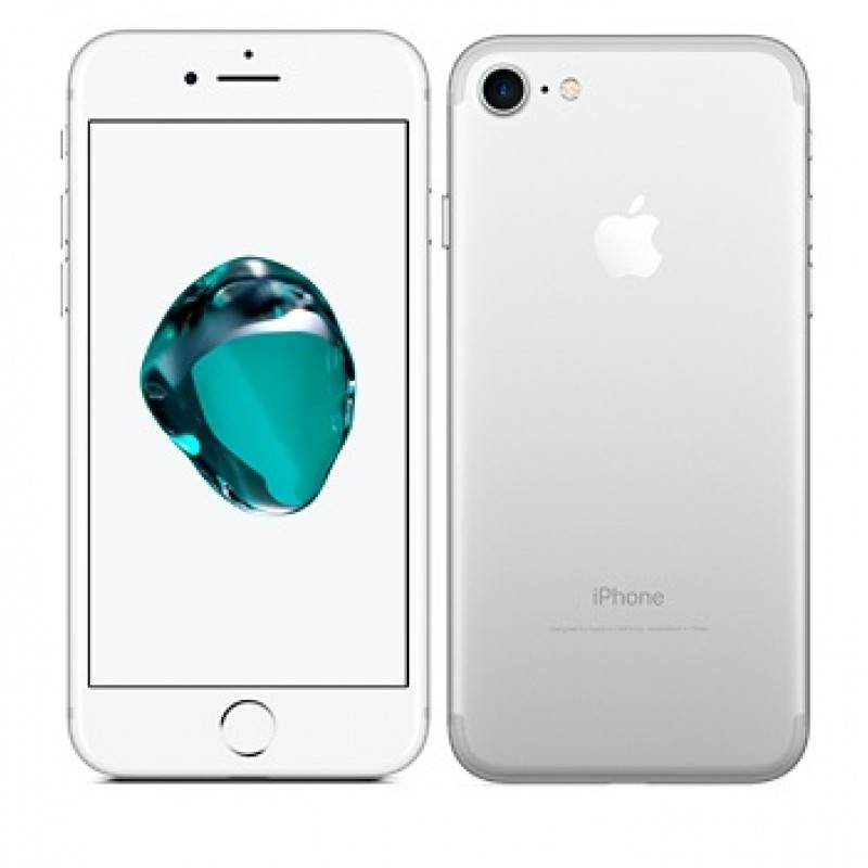 apple smartphone apple iphone 7 32 gb 4g lte chip a10 touch id ios 10 12 mp refurbished silver