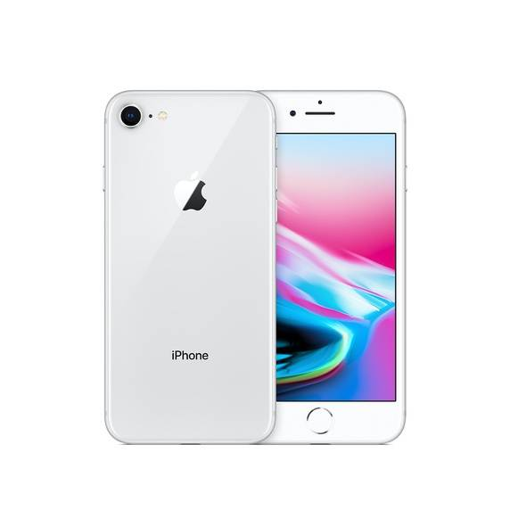apple smartphone apple iphone 8 64 gb 4g lte chip a11 bionic touch id ios 11 12 mp refurbished argento