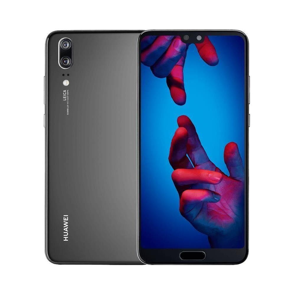 """Huawei Ricondizionato Smartphone p20 eml l29 128 gb 5.8"""" dual sim 4g lte 20 mp octa core refurbished nero"""
