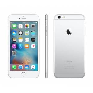 """Apple Smartphone Apple Iphone 6s Plus 128 Gb 5,5"""" 4g Lte Chip A9 Touch Id Ios 9 12 Mp Refurbished Argento"""