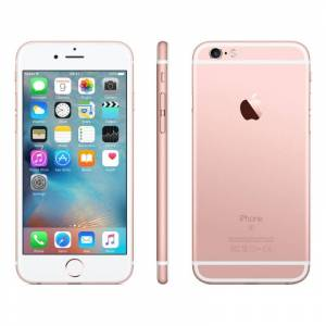 Apple Smartphone Apple Iphone 6s 32 Gb 4g Lte Chip A9 Touch Id Ios 9 12 Mp Focus Pixel Refurbished Rose Gold