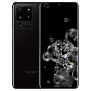 "Samsung Smartphone Samsung Galaxy S20 Ultra 5g Sm G988b 128 Gb Dual Sim 6.9"" 108 + 12 + 48 Mp + Vga Octa Core Refurbished Cosmic Black"
