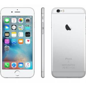 Apple Ricondizionato Smartphone iphone 6s 64 gb 4g lte chip a9 touch id ios 9 12 mp focus pixel refurbished silver