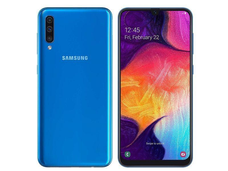 """Samsung Ricondizionato Smartphone samsung galaxy a50 sm a505f dual sim 128 gb octa core 6.4"""" super amoled 25 + 5 + 8 mp 4g lte wifi bluetooth r"""