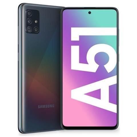 "Samsung Smartphone Samsung Galaxy A51 Sm A515f 128 Gb Dual Sim Octa Core 6.5"" Super Amoled 4g Lte Wifi Bluetooth 4 Fotocamere Refurbished Prism Crush Black"