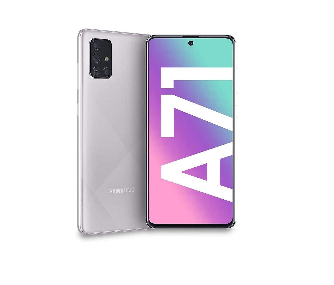 """Samsung Ricondizionato Smartphone samsung galaxy a71 sm a715f 128 gb dual sim octa core 6.7"""" super amoled plus 4g lte wifi bluetooth 4 fotocame"""