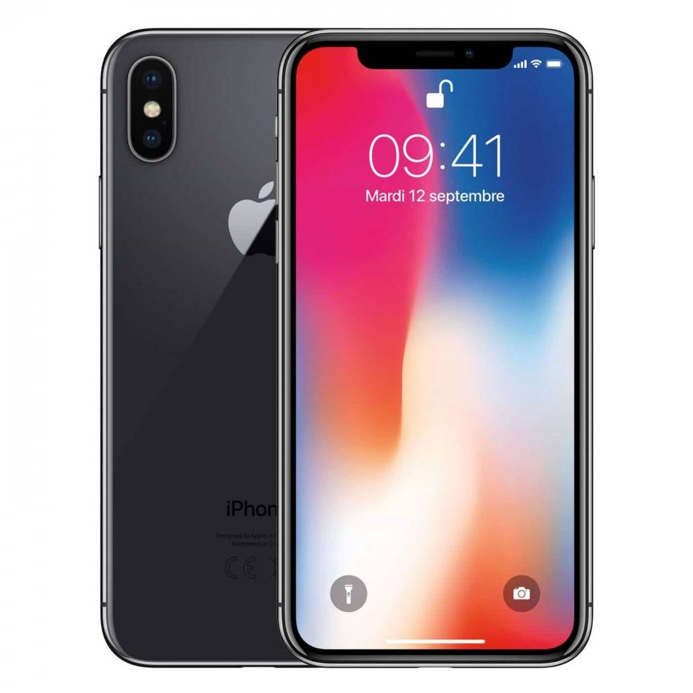 "Apple Smartphone Apple Iphone X 64 Gb 5.8"" 4g Lte A11 Bionic Doppia Fotocamera 12 Mp Refurbished Grigio Siderale"
