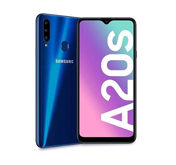 """Samsung Ricondizionato Smartphone samsung galaxy a20s sm a207f dual sim 32 gb octa core 6.5"""" tripla fotocamera 4g lte wifi bluetooth refurbishe"""