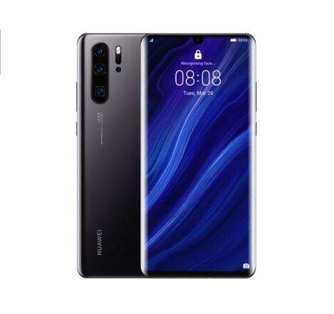 """Huawei Ricondizionato Smartphone p30 pro vog l29 256 gb dual sim 6.47"""" 4g lte quadrupla fotocamera octa core refurbished nero"""