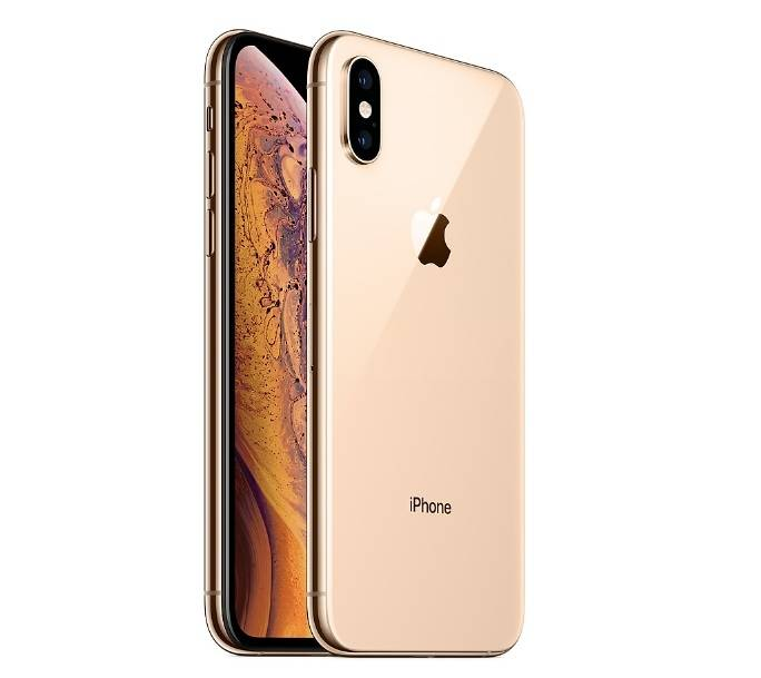 Apple Smartphone Apple Iphone Xs 64 Gb Dual Sim 4g Lte Chip A12 Bionic 12 Mp Refurbished Oro