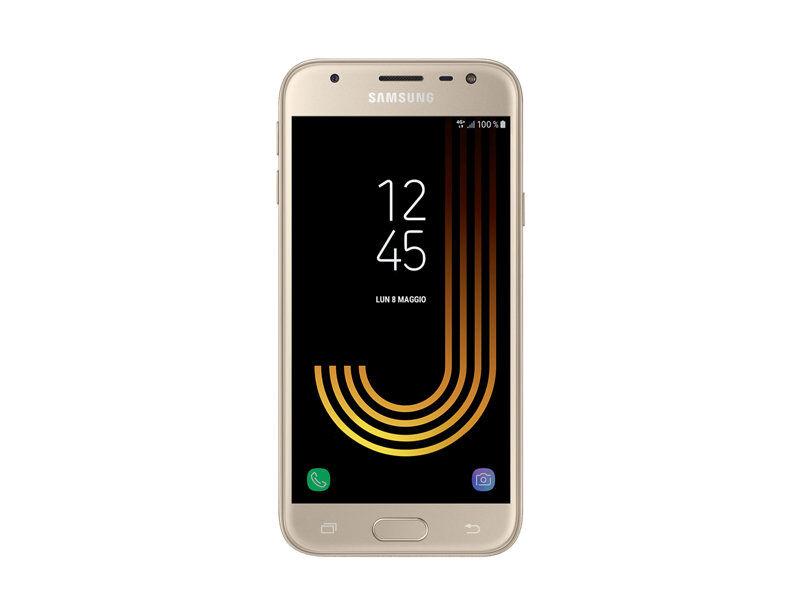 """Samsung Ricondizionato Smartphone samsung galaxy j3 (2017) sm j330f dual sim 5"""" super amoled 16 gb quad core 4g lte wifi bluetooth 13 mp androi"""