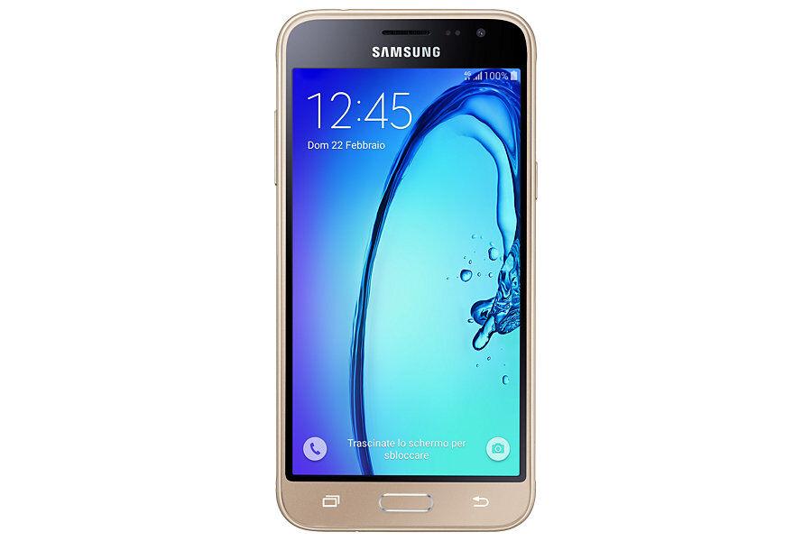 """Samsung Ricondizionato Smartphone samsung galaxy j3 (2016) sm j320f 5"""" super amoled 8 gb quad core 4g lte wifi bluetooth 8 mp android refurbish"""