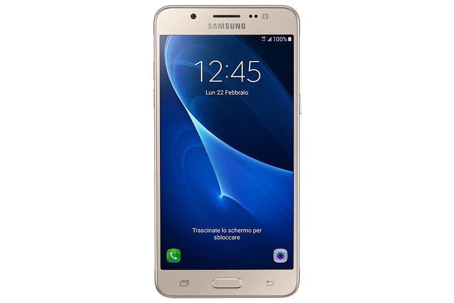 "Samsung Ricondizionato Smartphone samsung galaxy j5 sm j510f 16 gb quad core 5.2"" super amoled 4g lte wifi bluetooth 13 mp android refurbished"