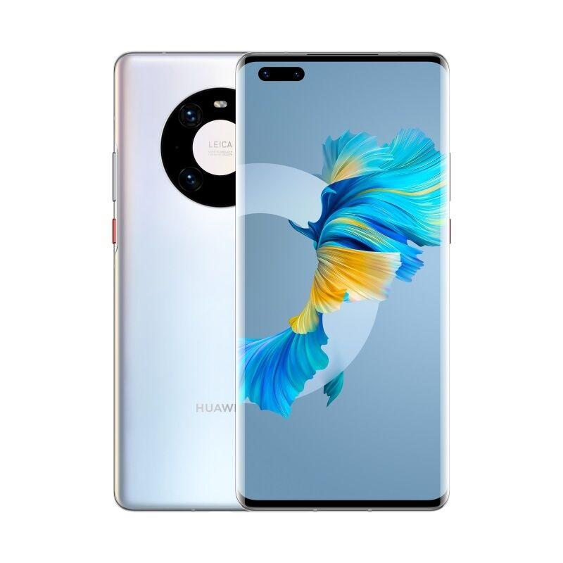 "Huawei Smartphone Huawei Mate 40 Pro 5g Noh Nx9 256 Gb Dual Sim 6.76"" Octa Core 50 Mp Refurbished Silver"