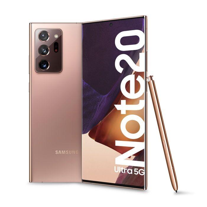 """Samsung Ricondizionato Smartphone samsung galaxy note 20 ultra 5g sm n986b dual sim 6.9"""" 512 gb octa core 108 mp + 12 mp + 12 mp android refurb"""