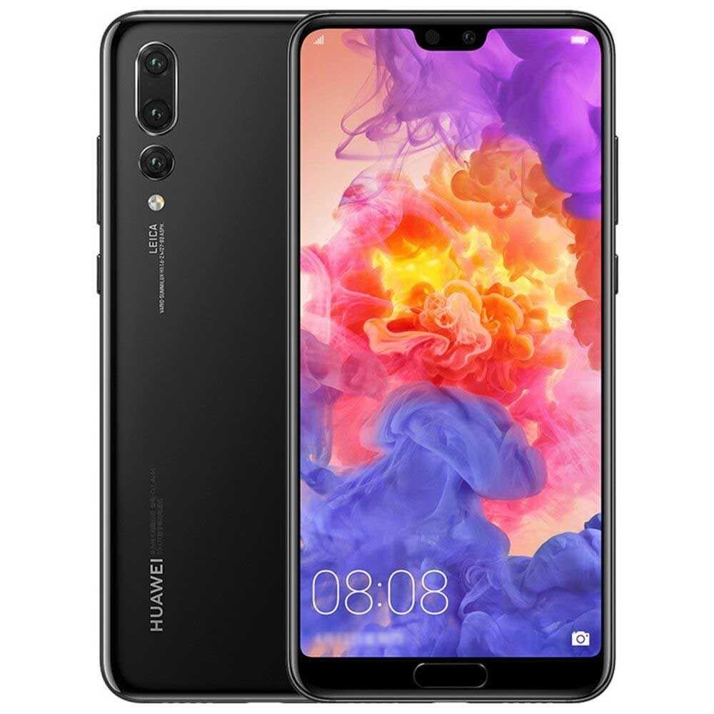 """Huawei Smartphone Huawei P20 Pro Clt L09 128 Gb 6.1"""" 4g Lte Tripla Fotocamera Octa Core Refurbished Nero"""