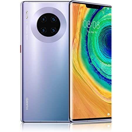 """Huawei Smartphone Huawei Mate 30 Pro Lio L29 256 Gb Dual Sim 6.53"""" 4g Lte Quaduprla Fotocamera Octa Core Refurbished Space Silver"""