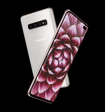 "Samsung Ricondizionato Smartphone samsung galaxy s10 plus sm g975f 512 gb dual sim 6.4"" 4g lte wifi 12 + 16 + 12 mp octa core refurbished bianc"