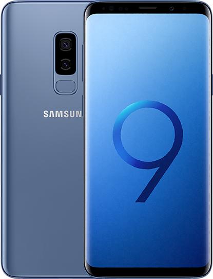 """Samsung Ricondizionato Smartphone samsung galaxy s9 plus sm g965f dual sim 64 gb 4g lte wifi doppia fotocamera 12 mp + 12 mp octa core 6.2"""" qua"""