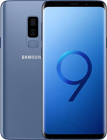 samsung smartphone samsung galaxy s9 plus sm g965f 64 gb 4g lte wifi doppia fotocamera 12 mp + 12 mp octa core 6.2 quad hd+ super amoled refurbished coral blue