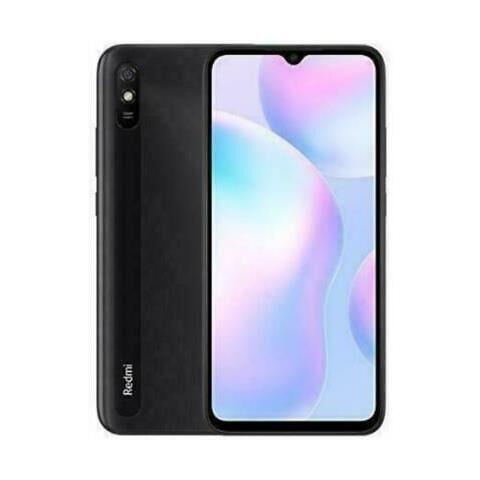"""Xiaomi Ricondizionato Smartphone redmi 9at m2006c3lvg 32 gb dual sim 6.53"""" 13 mp 4g lte refurbished granite gray / grigio"""
