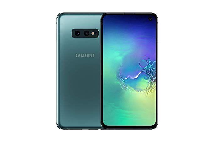 "Samsung Ricondizionato Smartphone samsung galaxy s10e sm g970f 128 gb dual sim 5.8"" 4g lte wifi 12 + 16 mp octa core refurbished prism green"