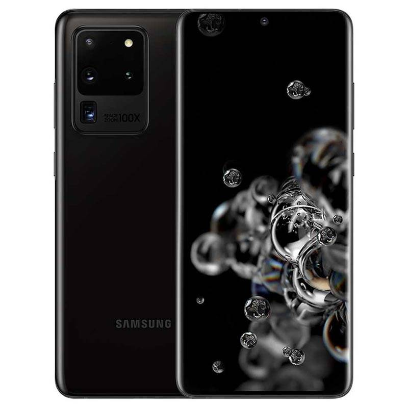 "Samsung Smartphone Samsung Galaxy S20 Ultra 5g Sm G988b 128 Gb 6.9"" 108 + 12 + 48 Mp + Vga Octa Core Refurbished Cosmic Black"