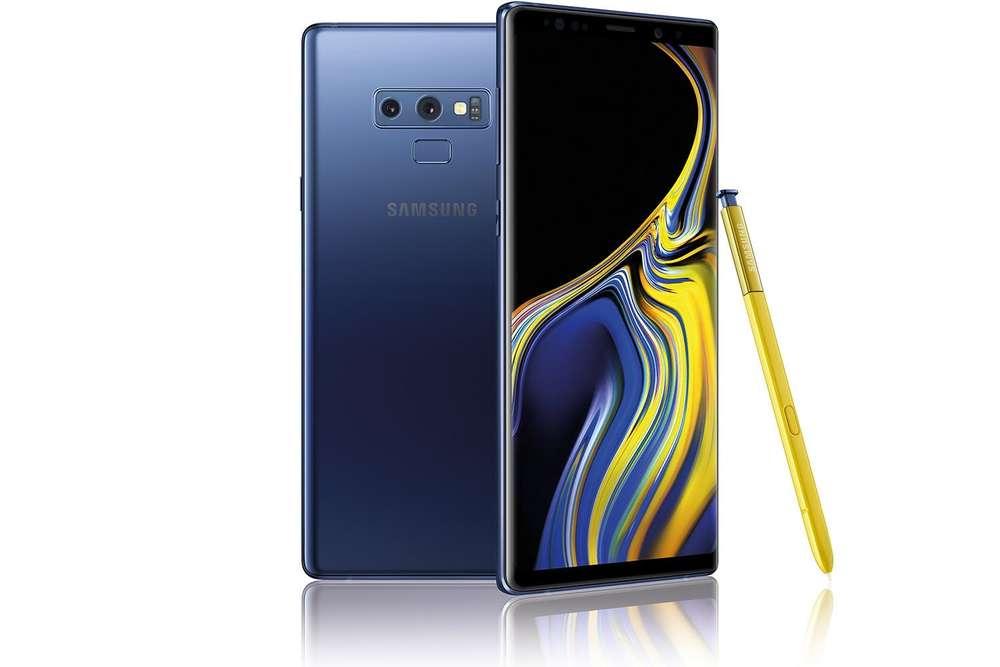 """Samsung Ricondizionato Smartphone samsung galaxy note 9 sm n960f dual sim 6.4"""" dual edge super amoled 128 gb octa core 4g lte wifi 12 mp + 12 m"""