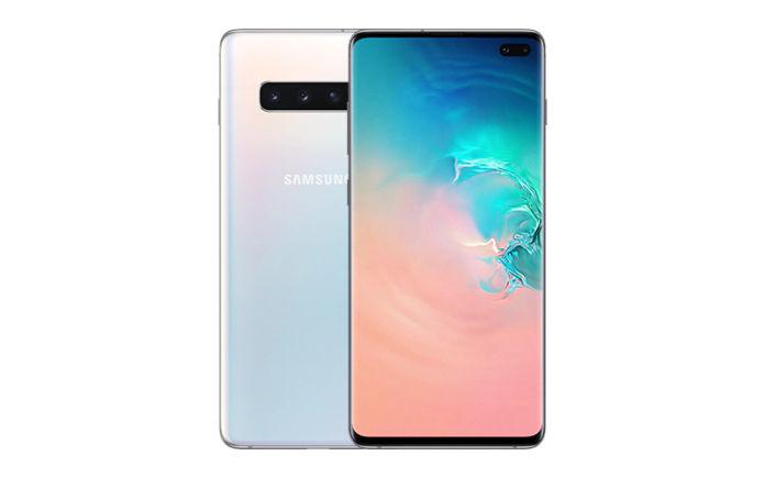 "Samsung Ricondizionato Smartphone samsung galaxy s10 plus sm g975f 128 gb dual sim 6.4"" 4g lte wifi 12 + 16 + 12 mp octa core refurbished prism"