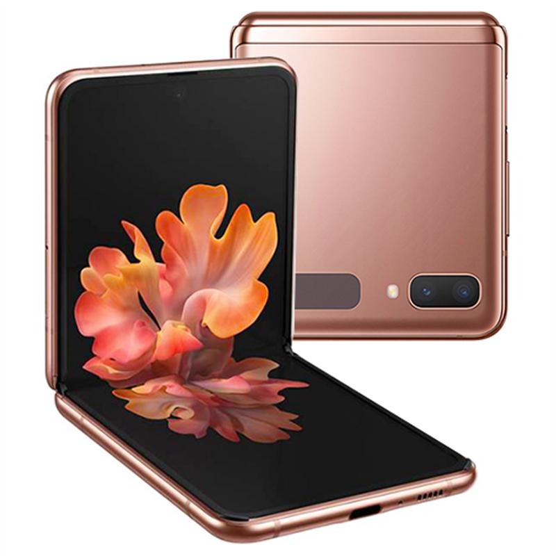 "Samsung Smartphone Samsung Galaxy Z Flip 5g Sm F707b 256 Gb Dual Sim 6.7"" 12 + 12 Mp Octa Core Refurbished Mystic Bronze / Oro"