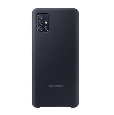 Samsung Ricondizionato Galaxy a51 silicone cover / custodia per cellulare ef pa515tbegeu refurbished nero