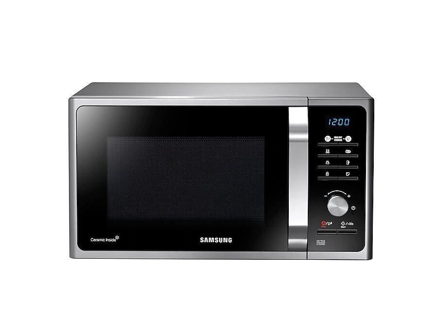 Samsung Forno Microonde Samsung Ms23f301tas / Mg23f301tck 23 L 6 Livelli Di Potenza Display Led Refurbished Silver