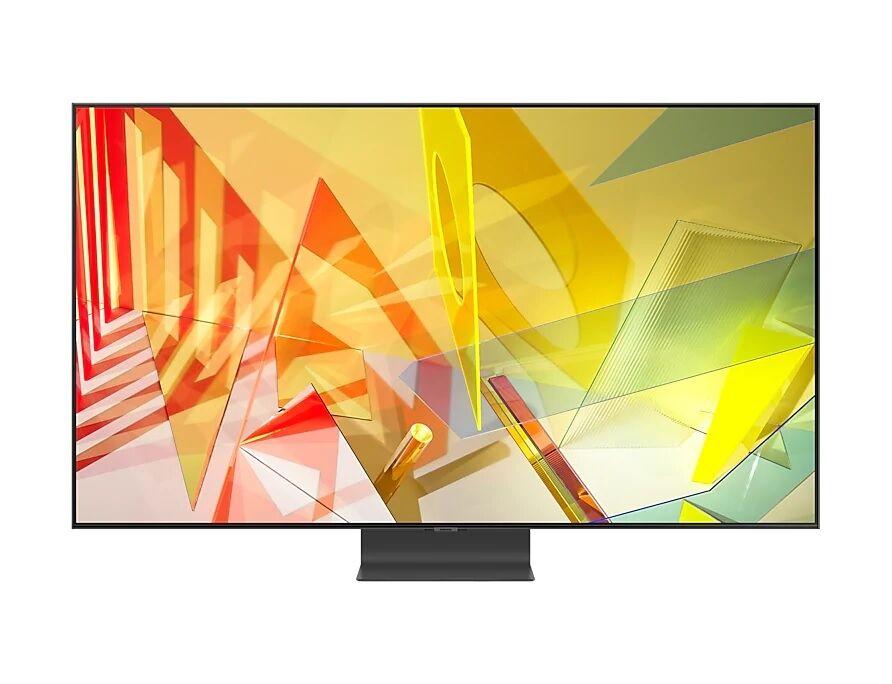 """Samsung Tv 65"""" Samsung Qe65q95tat Qled Q95t 2020 Serie 9 4k Uhd Smart Wifi 4300 Pqi Hdmi Usb Refurbished Carbon Silver"""