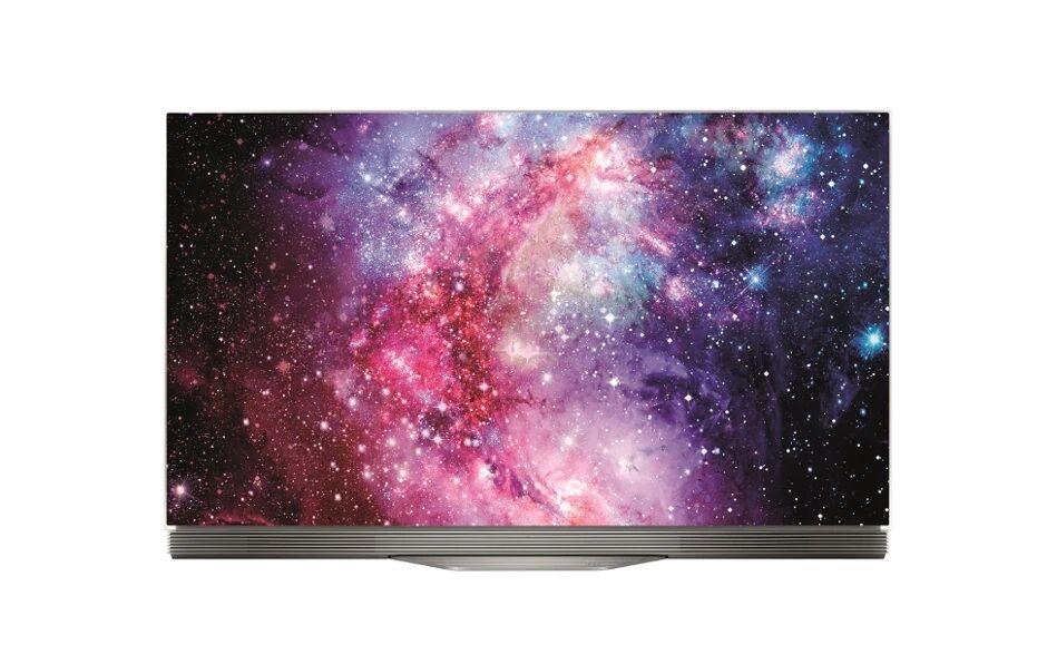 "LG Ricondizionato Tv lg 55"" oled55e7n oled 4k smart wifi hdmi usb soundbar integrata refurbished cornice in vetro"