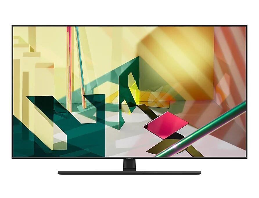 "Samsung Ricondizionato Tv 55"" samsung qe55q70tat qled q70t 2020 4k uhd smart wifi 3400 pqi usb refurbished hdmi"