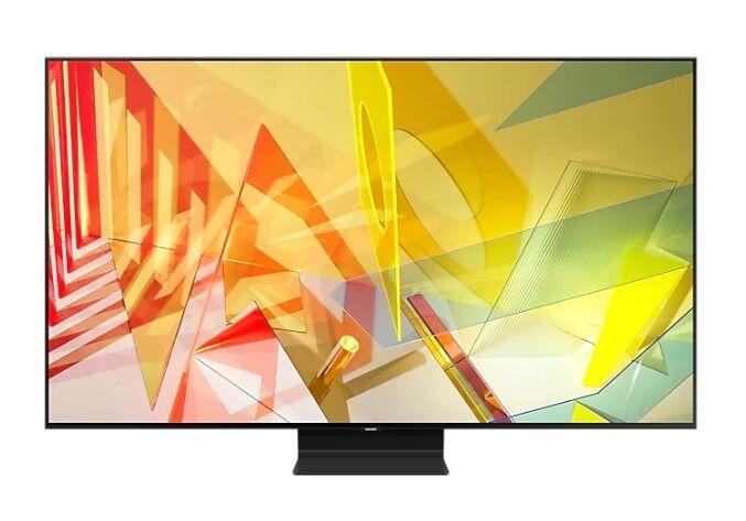"""Samsung Tv 65"""" Samsung Qe65q90tat Qled Q90t 2020 4k Ultra Hd Smart Wifi 4200 Pqi Usb Refurbished Hdmi"""
