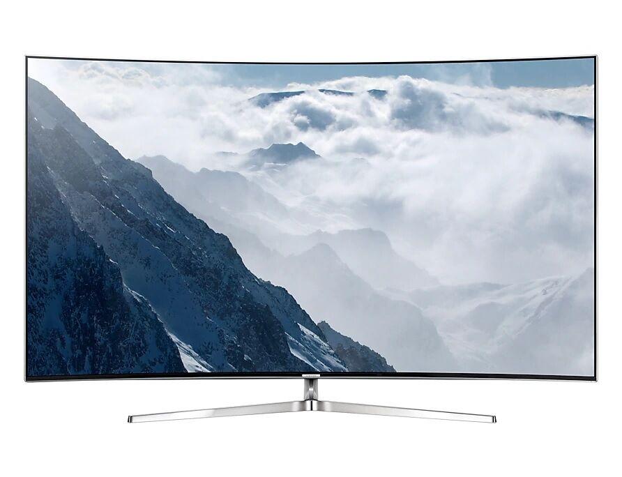 "Samsung Ricondizionato Tv 55"" samsung ue55ks9000 led serie 9 curvo suhd 4k smart wifi 2400 pqi hdmi usb silver"